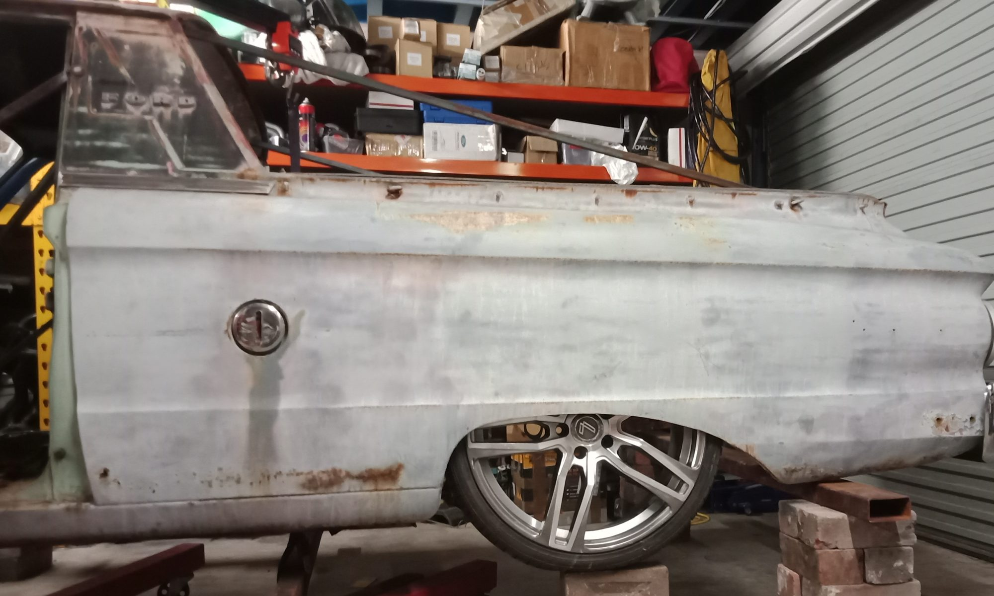 1964 XM Boss 349 Powered Ute in the build